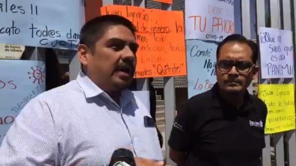 Sindicalizados del gobierno de Oaxaca, piden sumarse a cuarentena por Covid-19
