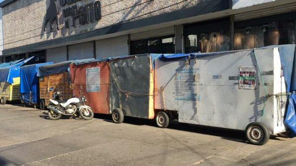 Que ahora será hasta abril, el Día sin ambulantes en Tuxtepec