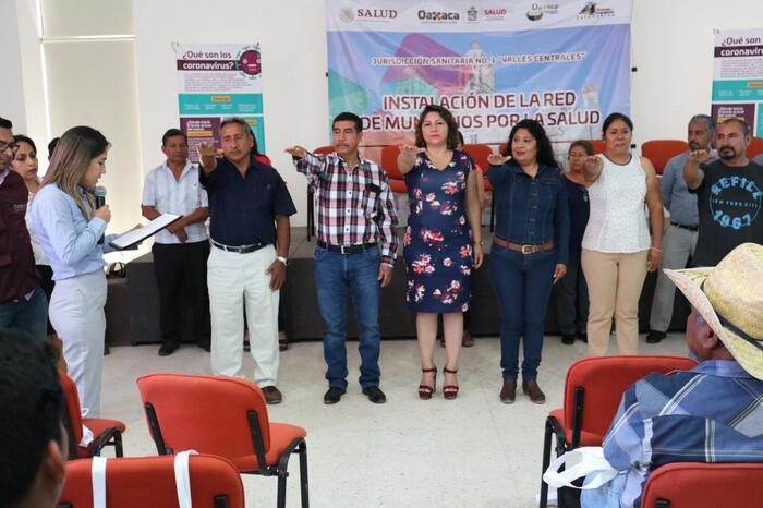 Edil Yolanda Santos de Sn. Jacinto Amilpas, fue elegida Presidenta del Órgano de la Red de Salud en Valles Centrales