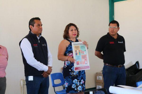 Cumpliendo con los objetivos de la Red De Salud Intermunicipal, Yolanda Santos Montaño deja en alto al Municipio de San Jacinto Amilpas