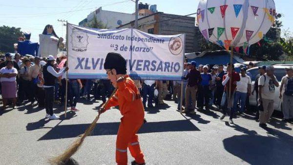Marcha Sindicato 3 de Marzo por su 46 aniversario