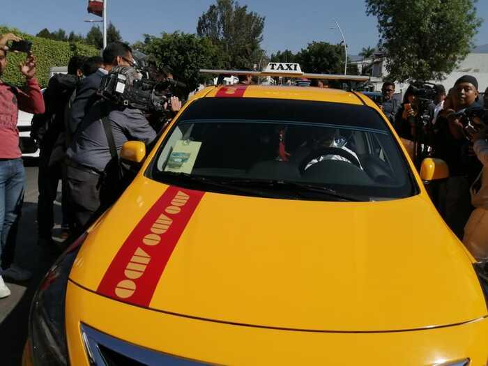 Presentan plataforma DIDI para taxis en Oaxaca