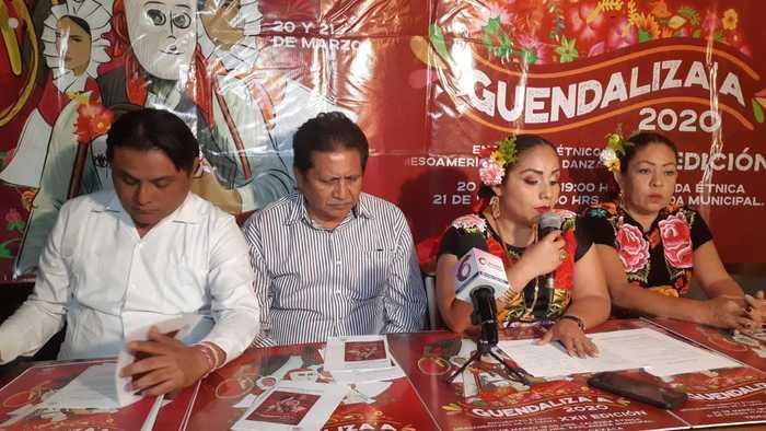 Anuncia autoridad de Santo Domingo Tehuantepec su Guendaliza'a
