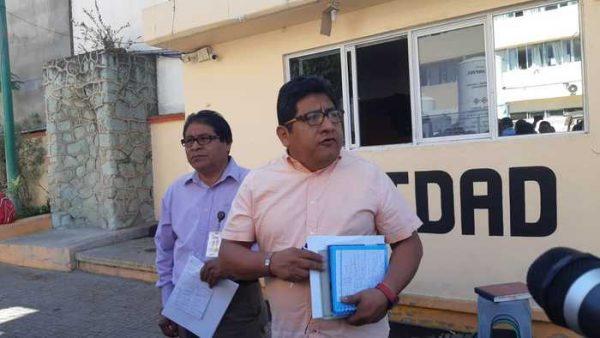 Trabajadores del Hospital Civil en Oaxaca, denuncian falta de insumos