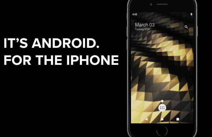 Android corriendo en un iPhone 7, lo más curioso que verás hoy