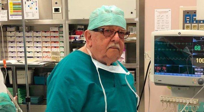 Médico de 85 años volverá a trabajar para combatir el coronavirus