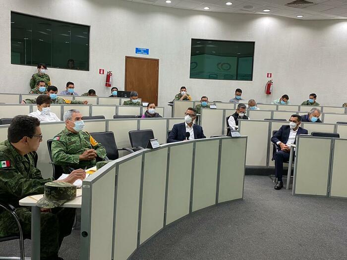 Gobierno de Oaxaca y Fuerzas Armadas, suman esfuerzos a través del PLAN DN-III para atender casos por COVID-19