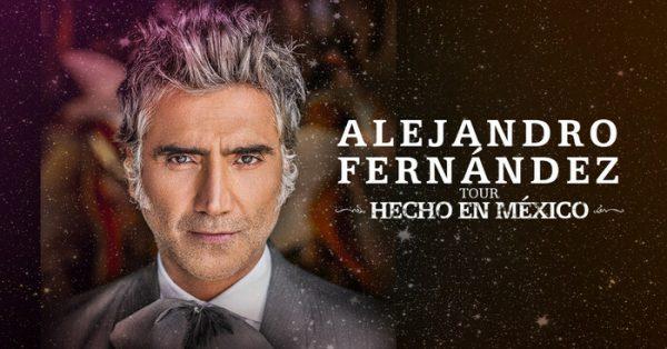 "Con su tour ""Hecho en México"", Alejandro Fernández se presentará en Oaxaca"