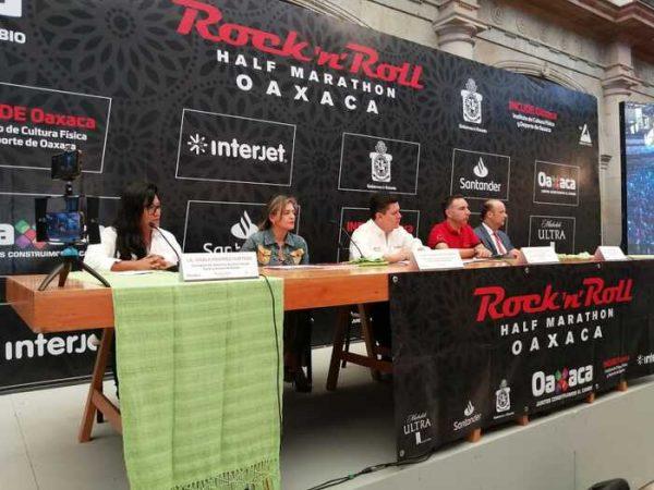 Anuncian tercera edición del Rock,nRoll Half Marathon en Oaxaca