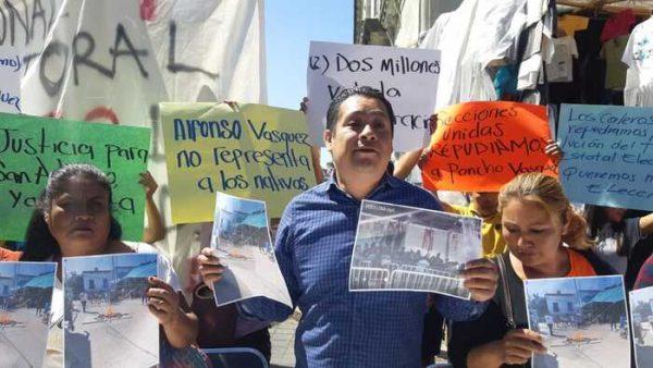 Ex candidato a la presidencia de San Antonio de la Cal, exige nuevas elecciones