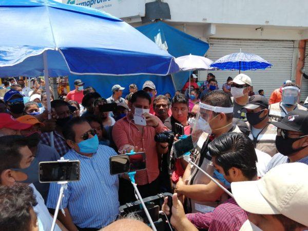 Descontento de ambulantes de Tuxtepec fue porque líderes no bajaron la información a agremiados: Dirección de Comercio
