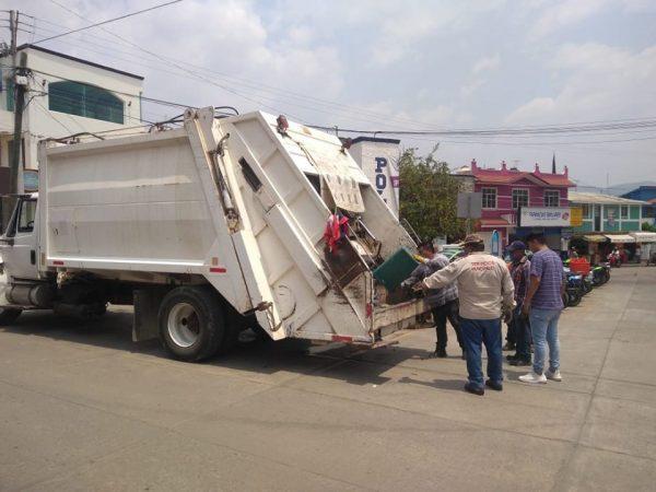 Recolección de basura en Huajuapan será clasificada desde el primero de mayo