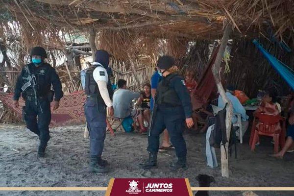En Salina Cruz siguen los operativos en las playas