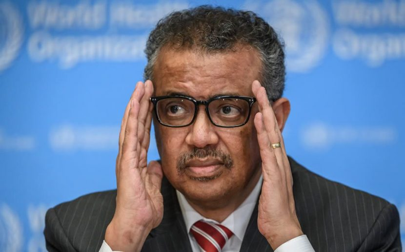 El Director de la OMS, habla de los ataques y amenazas racistas recibe
