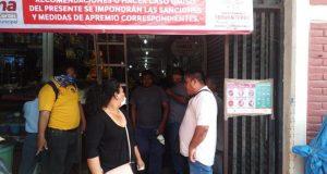 En Tehuantepec supervisan bares, cantinas y comercios para que cumplan con medidas de Covid-19