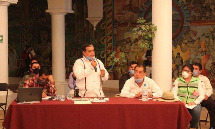 Consejo regional de salud en la Mixteca se reunió para fortalecer acciones contra coronavirus