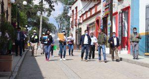 En Tlaxiaco autoridades supervisan que establecimientos abiertos sean los autorizados