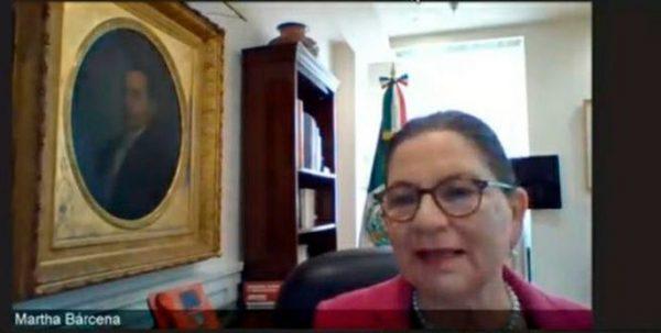 EU no consultó con México lista de sectores esenciales: Martha Bárcena