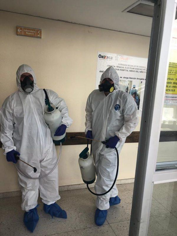 En Huajuapan de León la iniciativa privada se suma a acciones preventivas contra Covid-19