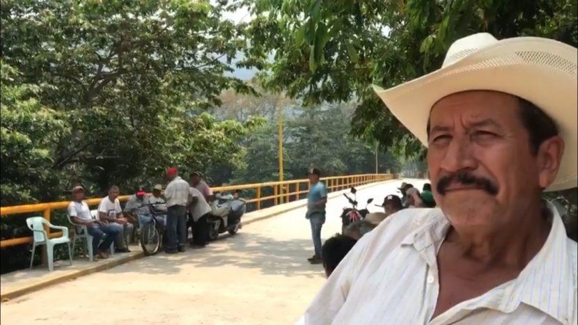 Cierran paso a Jacatepec y sus comunidades por temor a covid19