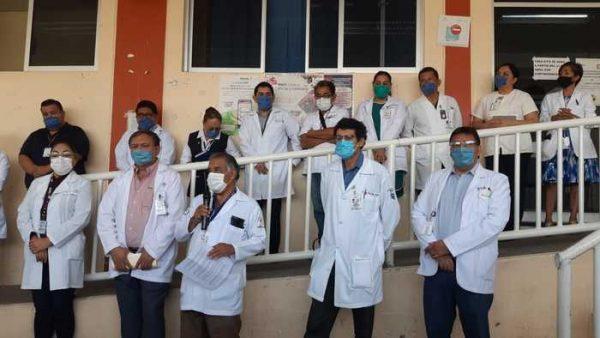 """Personal médico del Hospital """"Aurelio Valdivieso"""" pide insumos para combatir Covid19"""