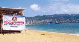 Arrancan vacaciones sin playas por emergencia sanitaria