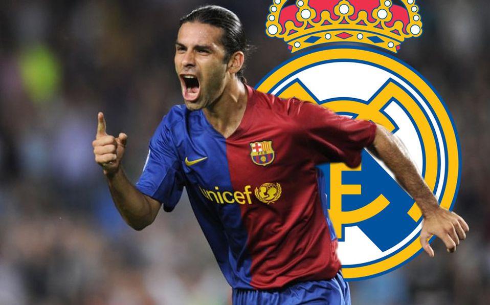 Rafael Márquez pudo jugar en el Real Madrid pero Ronaldo lo 'impidió'