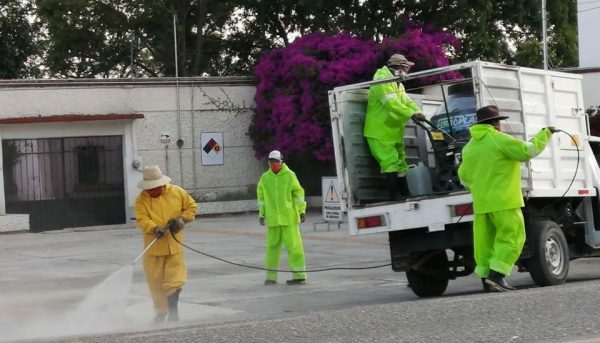 En Nochixtlán siguen reforzando acciones para evitar propagación de Covid-19