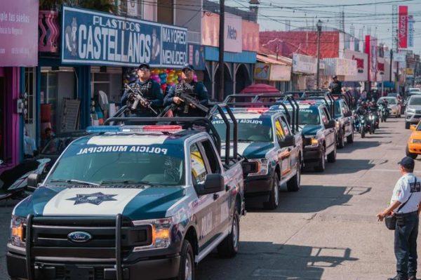 Refuerzan vigilancia en la ciudad y centros comerciales para garantizar la tranquilidad de todos