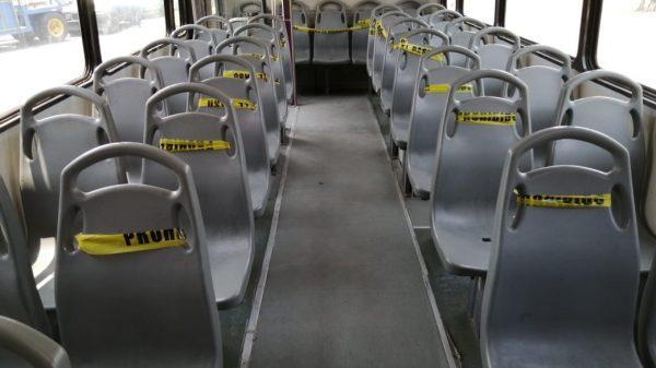 Por Fase 3 de COVID-19, a partir de este lunes se aplicarán nuevos lineamientos para la operación del transporte público en Oaxaca