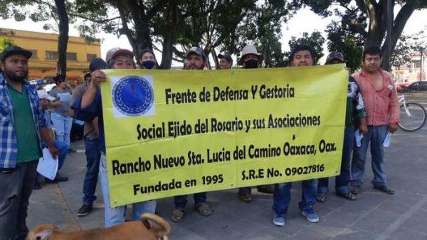 Vendedores de muebles de Oaxaca piden apoyo por parte del gobierno