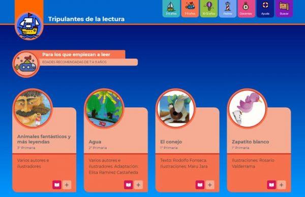 "El IEEPO invita a consultar la biblioteca digital infantil ""Tripulantes de la Lectura"""