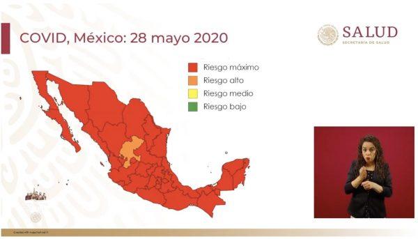 Oaxaca en semáforo rojo previo a inicio de nueva normalidad