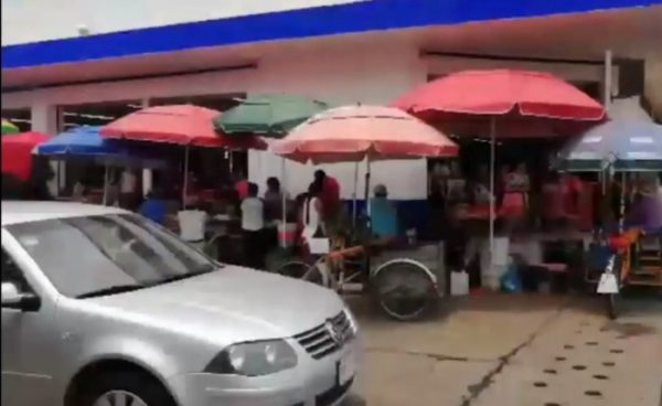 Ambulantes de Tuxtepec, seguirán resguardados