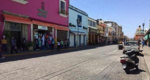 Pese a vencer acuerdo, ambulantes no se instalaron en calles de Oaxaca