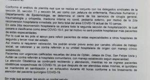 Hospital Tuxtepec realizara segunda reconversión para pacientes Covid-19