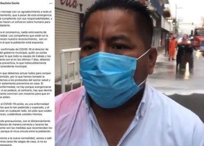 Presidente de Tuxtepec en cuarentena, Director de Desarrollo social da positivo a covid