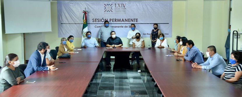El Congreso trabajará con el magisterio oaxaqueño la nueva Ley educativa: diputadas y diputados de Morena