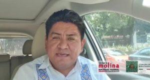 Exhorta Irineo Molina a ayuntamientos a invertir en obra pública