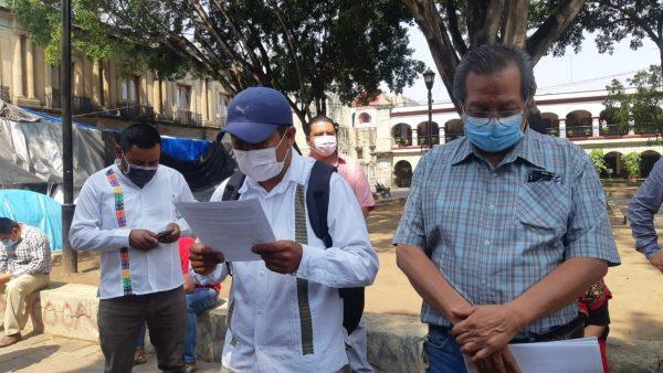 Organizaciones de Oaxaca anuncian movilizaciones al terminar contingencia por Covid-19