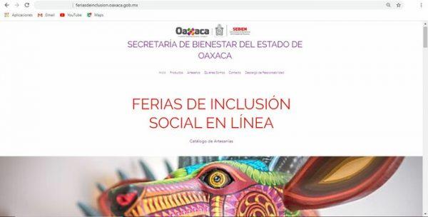 Sebien desarrolla sitio web para artesanos y productores oaxaqueños