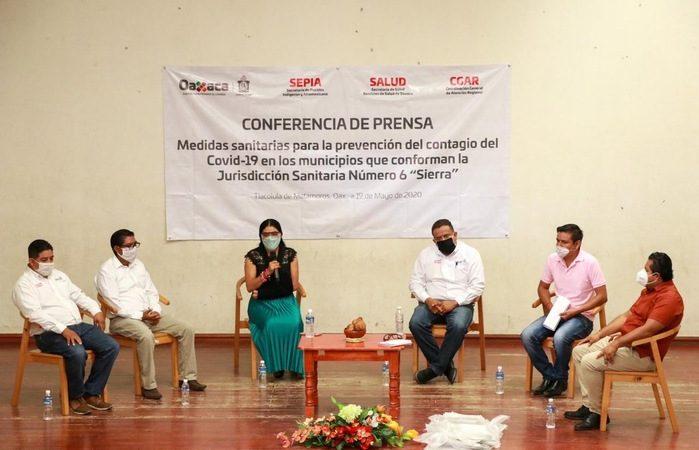"""Municipios de la Sierra Norte y Sur, pospondrán su transición a la """"nueva normalidad"""""""