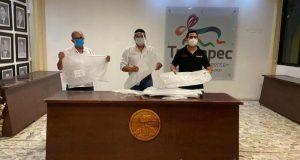 Ayuntamiento de Tuxtepec recibe equipo de protección del Gobierno del Estado