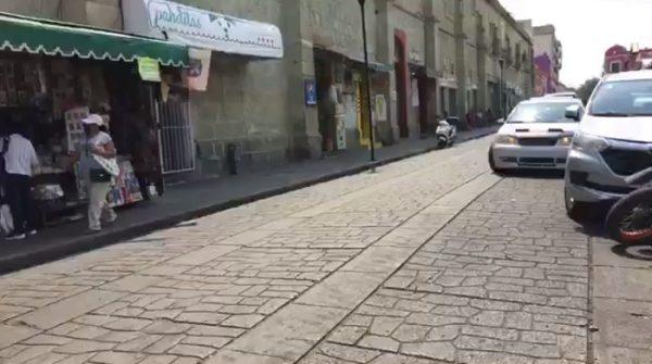 Ambulantes y gobierno de Oaxaca de Juárez acuerdan no instalarse durante diez días en las calles