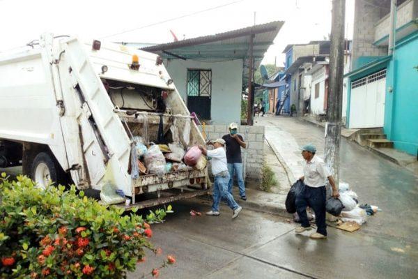 Gobierno de Tuxtepec garantiza servicio de limpia pública ante emergencia sanitaria por Covid-19