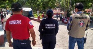 En cuarentena cuerpo de bomberos de Huajuapan