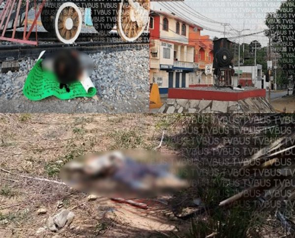 Tiran cabeza con narcomensaje y más tarde localizan el cuerpo en Matías Romero