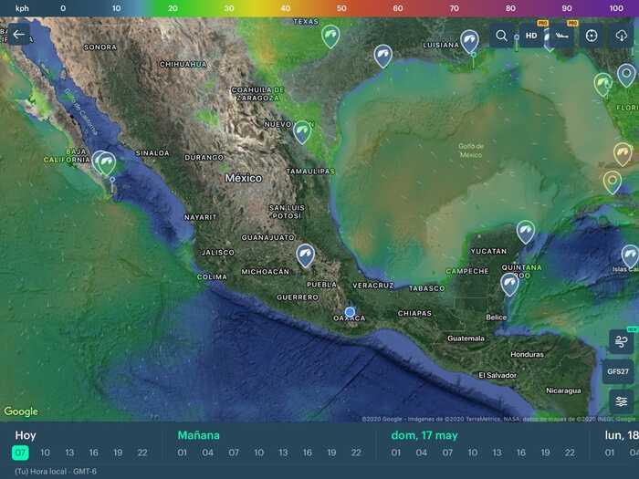 Se pronostican de 40 a 42 ciclones para Oaxaca: CEPCO