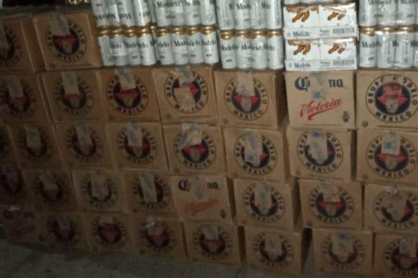 Asestan duro golpe a distribución y tráfico de bebidas embriagantes en Valle Nacional