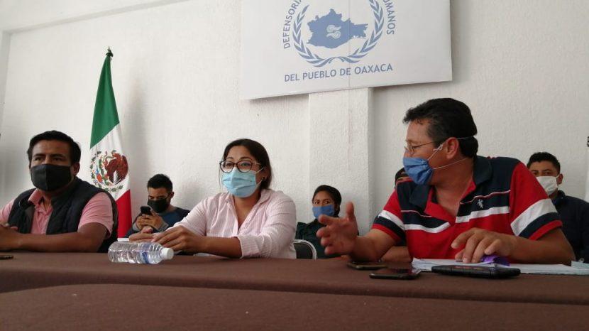 Presidenta de Nochixtlán y comité de victimas, interponen denuncia ante Fiscalía por aparición de manta con amenazas